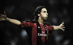 graczy, Mediolan, Ibrahimovic
