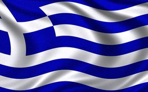Bandiera della Grecia, Bandiera greca, Repubblica ellenica bandiera - Bandiera della Grecia
