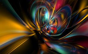 Abstraction, 3d, Art
