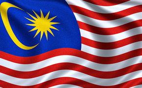 Bandiera della Malesia, Bandiera malese, Bandiera della Malesia, Bandiera della Malesia