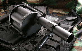 launcher, bronezhelet, shell, weapon