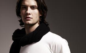 Ben Barnes, sciarpa, uomo, attore