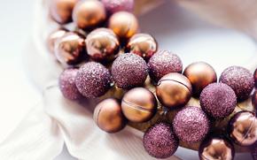 圣诞节, 球, 花圈, 装饰, 新年, 节日, 新年, 玩具, 圣诞节, 风景