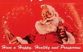 明信片, 圣诞老人, 新年