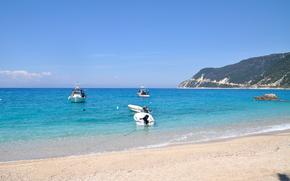 mare, spiaggia, Barche
