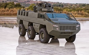 APC, armored troop-carrier, South Africa, new, weapon