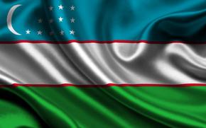 Uzbekistan, bandiera