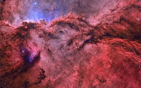 gas, Star, emission nebula