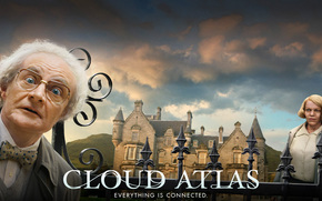 Hugo Weaving, Jim Broadbent, Cloud Atlas, Noaks hermana, Timoteo Cavendish