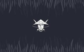 Rayden, minimalism, lightning, hat, head, god of thunder