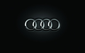 firmar, Anillo, Audi, marcar