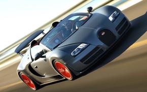auto, Bugatti, hypercar, velocit, traccia