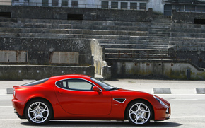 Alfa Romeo, red, Alfa Romeo