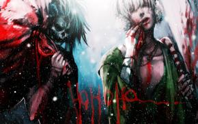 bolsa, nieve, Anime, Navidad, sangre, tipo, crneo, inscripcin, esqueleto, Arte, Ao Nuevo, De Santa