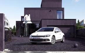 auto, cantiere, Volkswagen, dipingere