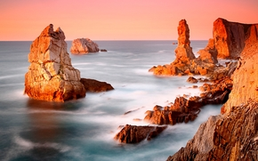sea, rocks, nice, very