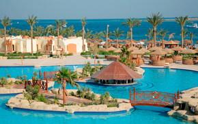 tropics, resort, sea