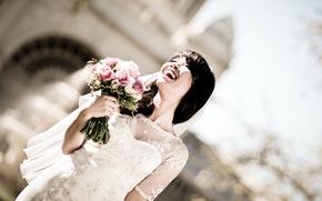 невеста, девушка, настроение