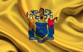 bandeira, Estado, New Jersey
