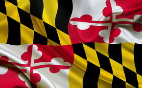 bandeira, Estado, Maryland