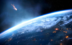 Mass Effect 3, Land, Planet, Meteoriten
