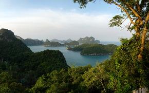 thailand, landscape, thung salaeng luang, nature
