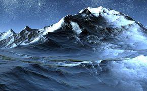 Montagne, neve, Stella