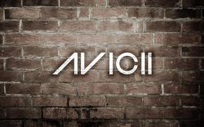 musica, Avitchi, stile, mattone, muro