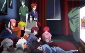 Jiro, Sasori, Yahiko, Orochimaru, Sasuke, sakura, Killer Bee, Dzetsu, Shikamaru, Gaara, naruto