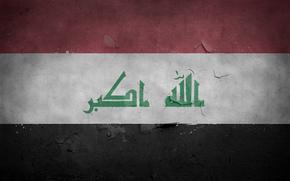 Ирак, Флаг, текстура