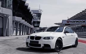 BMW, BMW, bianco, traccia