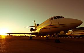самолёт, аэродром, авиация