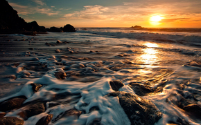 sun, coast, nice