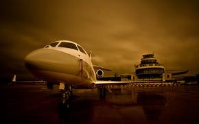 авиация, аэродром, самолёт