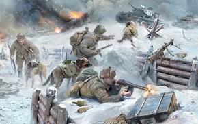 тысяч, арт, истребители, В, танков, п, танками, бросаться, стремительно, приучали, для, собак, использовали, из-за, с, собаками, противотанковых, нехватки, средств, борьбы, более, специальную, собаку, подготовку, прошедших, немецкими, советские, войска