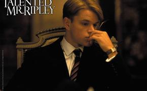The Talented Mr. Ripley, The Talented Mr. Ripley, film, movies