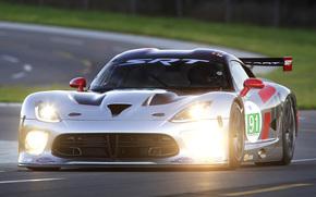 lights, car, racing, Dodge, light