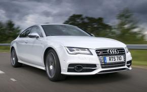 Audi, S7, Audi, White
