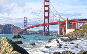 Golden Gate Bridge, San Francisco, Stati Uniti d'America