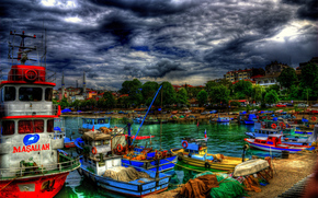 duzce'nin, Turkey, city, boats, Boat