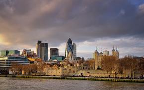 La City de Londres de la zona, en el corazn de Londres, Inglaterra