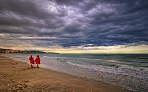 grau de castello, spain, sea, coast, sunset, landscape