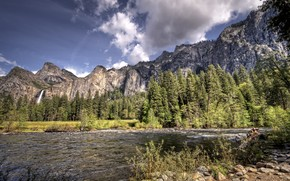 Yosemite National Park, California, Stati Uniti d'America