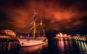 Sydney, Porto, nave