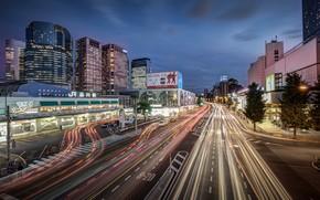 Japan, Tokyo, Shinagawa station