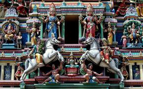 sri mahamariamman temple, kuala lumpur, malaysia, Shri Mahamariamman, Kuala Lumpur, Malaysia, temple