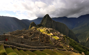 Machu Picchu, ruins, Mountains