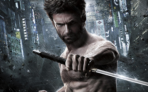 Wolverine: Immortal, rosomak, Hugh Jackman, Hugh Jackman, Logan, rosomak