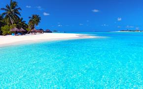 Maldive, tropici, spiaggia