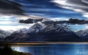 lago, pukaki, neozelandese